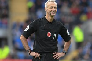 Pictures taken during the Premier League Game Cardiff Vs Brighton & Hove Albion Saturday 10th November 2018 ; SUS-181011-223902008