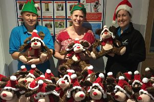 Wadars staff are preparing for this year's Christmas fair