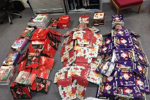 More than 3,000 calendars have been donated throughout West Sussex