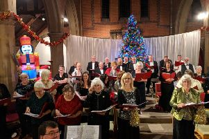 Edwin James Festival Choir's Winter Wonderland concert performance at St James Church