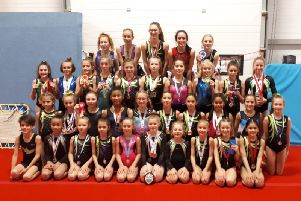 The Wickers gymnasts