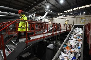 Many households in Worthing could make improvements with recycling