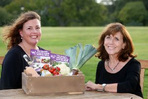 Founder of Natural PR Ltd, Paula Seager and Founder of the Sussex Food and Drink Network, Hilary Knight