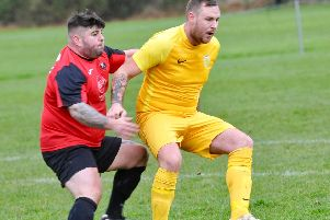 Kris Harding was at the double in Upper Beeding's quarter-final cup win. Picture: Stephen Goodger
