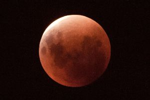 Ardingly College's  new solar-powered observatory captured the last lunar eclipse in 2015