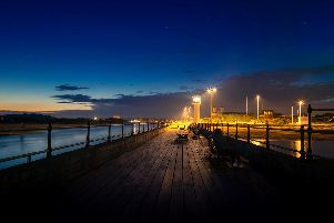 Stewart's photograph won the adult competition as well as the Littlehampton section