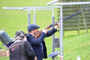 The clay pigeon shoot event is good for companies, or with families and friends