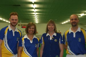 Worthing Pavilion's successful mixed fours team