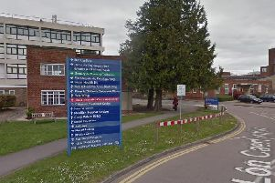 St Richard's Hospital, Chichester. Picture from Google Maps