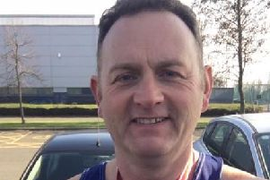 Worthing Harriers member Mark Gibbs