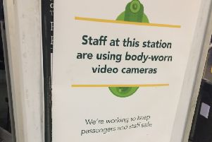 Staff at Worthing railway station have been given body-worn cameras