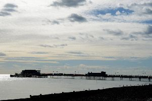 Worthing Pier. Picture: Kate Shemilt