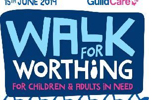 Walk for Worthing is a new sunset walk, raising money for Guild Care