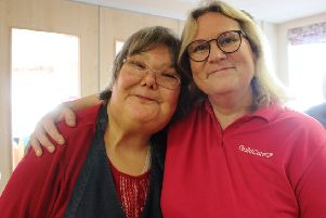 Mandy Ford, GOLD session leader, is a finalist for a national award, recognising her work with older people with learning disabilities. Picture: Guild Care