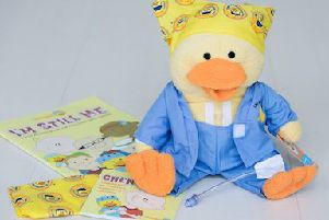 Give A Duck is a UK children's cancer charity, set up to help Gabe's Chemo Duck Program spread its wings
