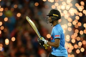 Delray Rawlins is aiming for fireworks in the Vitality Blast