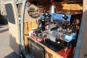 The Coffee Camp business began life as a specially-adapted van