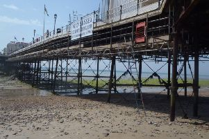 Worthing Pier is undergoing fire safety improvements. Picture: Worthing Borough Council
