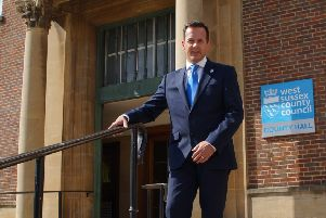 Nathan Elvery, chief executive at West Sussex County Council