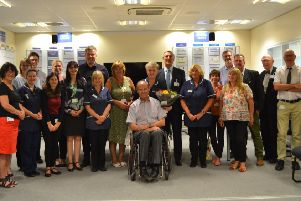 Nurse Maggie Morley celebrates 50 years of working for Worthing and Southlands hospitals.