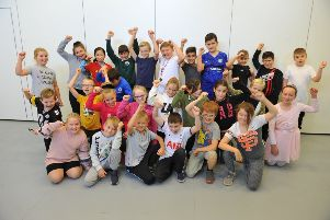 Dress up as an athlete day at White Meadows Primary School in Littlehampton. Picture: Steve Robards SR18101901