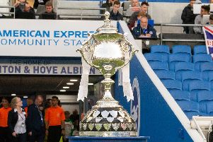 The Sussex Senior Cup. Picture by Chris Neal