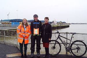 Shoreham Port has funded a new life-saving defibrillator for local homelessness charity, Emmaus.