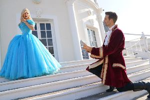Cinderella: The Pantomime. Picture: Alan Stockdale