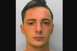 Jack Robson, 20, of Holly Drive, in Littlehampton. Picture: Sussex Police