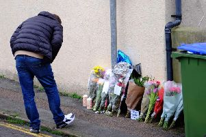 Tributes and flowers laid for Newhaven stabbing victim Ollie Wells