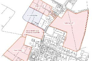 Clays Farm in relation to other development sites