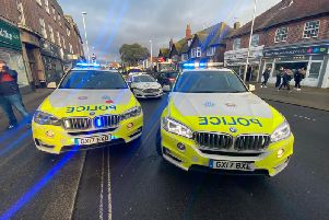 Sussex Police on the scene
