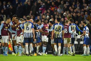 Brighton and Hove Albion vs Aston Villa