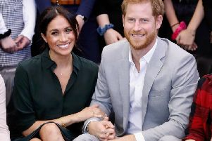 Meghan Markle and Prince Harry.(Photo by Chris Jackson/Getty Images)