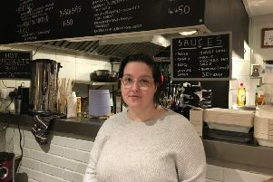 Sophie Cohen, owner of Cactus Kitchen Gals in High Street, Worthing