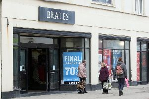 The Beales store in Worthing has gone into administration