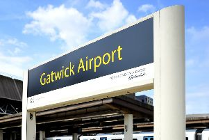 Gatwick Airport station. Pic Steve Robards SR1917819 SUS-190807-134754001