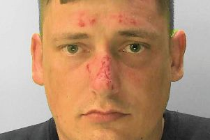 Robert Cox, 33, is wanted by police in connection with nine burglaries in Hove. He has links to Littlehampton.