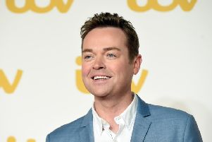 Stephen Mulhern sent a Tweet wishing Wick FC luck ahead of their game. He is pictured attending the ITV Gala at London Palladium.  (Photo by Stuart C. Wilson/Getty Images) 592477971