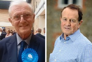 Conservative Terry Chapman and Lib Dem James Walsh