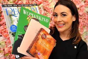 Melisa Bellikli of DollFace Beauty, Windmill shopping village, Barnham has decided to remove gossip mags after Caroline Flack's death, and now has literature promoting wellbeing. Pic Steve Robards SR2002252 SUS-200225-101734001