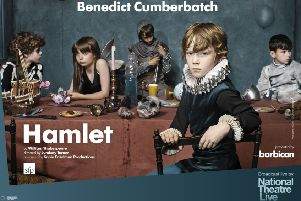 Hamlet is just one of the National Theatre Live shows being screened at The Playhouse this autumn season.