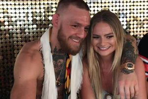 Conor McGregor and DJ Loeca pictured in Ibiza earlier this week.