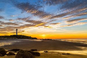 Lossiemouth West Beach summer sunset. Pic by Alan Butterfield / Moray Speyside Tourism