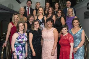 Staff from Lisneal College