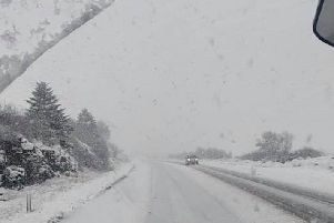 This photo of a snow covered Glenshane Pass was taken by Ryan Downey from Belfast. Ryan's photo was shared on social by the P.S.N.I.