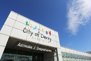 The City of Derry Airport air connection to Stansted, London, has been cancelled after operator Flybmi went into administration