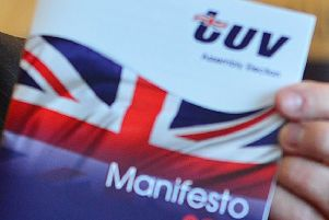 TUV reports theft of election posters to PSNI