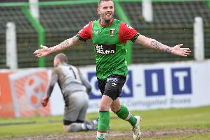 Darren Murray scored the opener at the Oval.