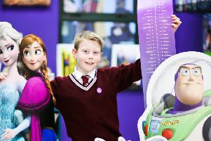 Pupils measure up to big screen characters